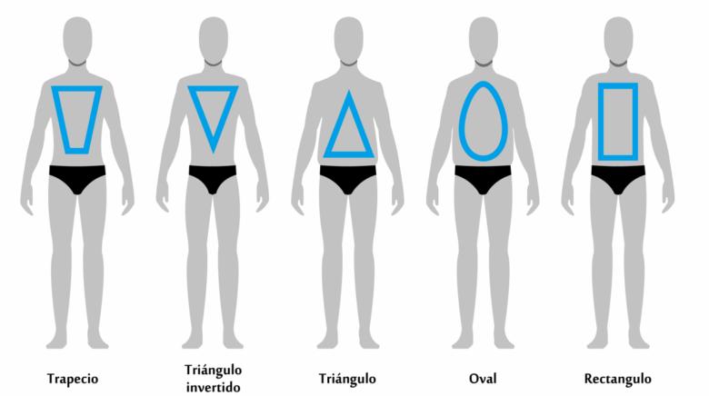 5 tipos de cuerpo masculino según su tipología