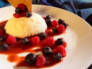 Mouse de yogurt griego
