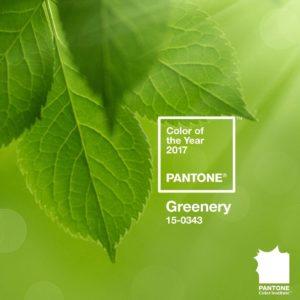 Greenery, el color pantone de 2017