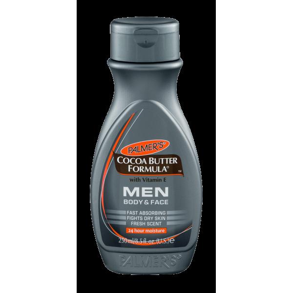 La piel de los hombres requiere humectación extrema