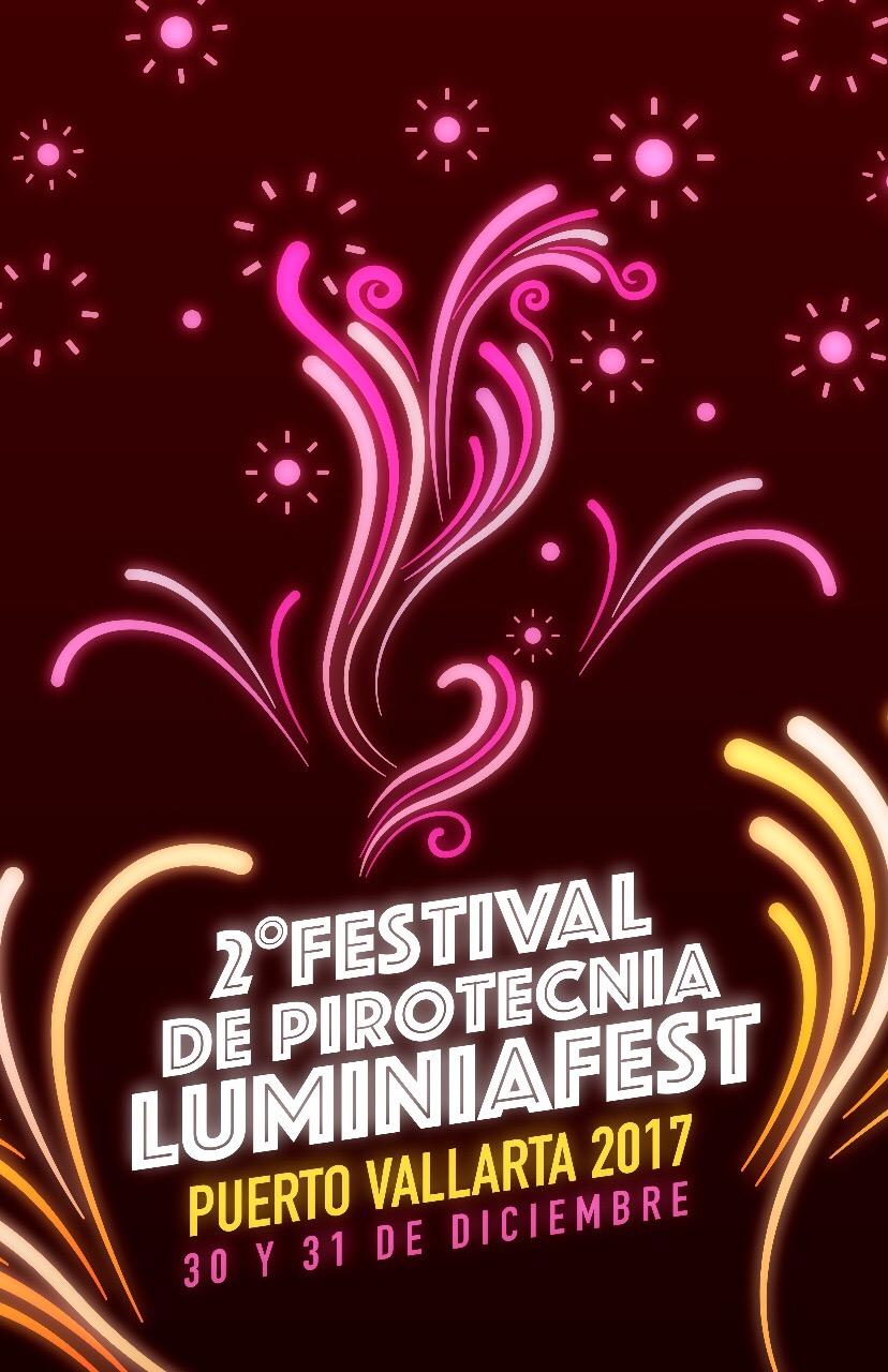 II Festival de Pirotecnia LuminiaFest Puerto Vallarta 2017