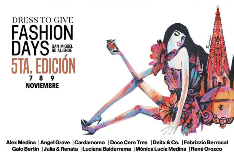 Llega la 5ta. Edición de Drees To Give Fashion Days