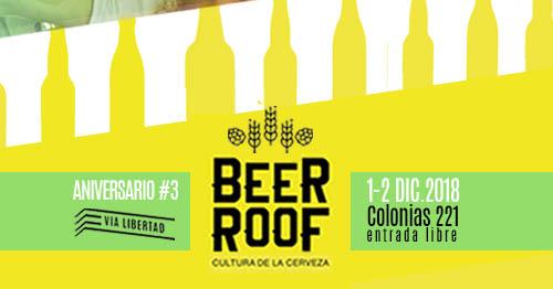 Vía Libertad Aniversario # 3 + Beer Roof // Sab.1 Dom.2 Dic. 2018